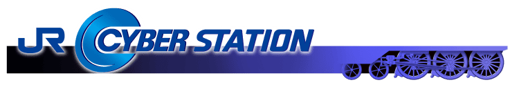 JR CYBER STATION LOGO